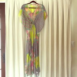 Z & L kaftan pool/beach cover up